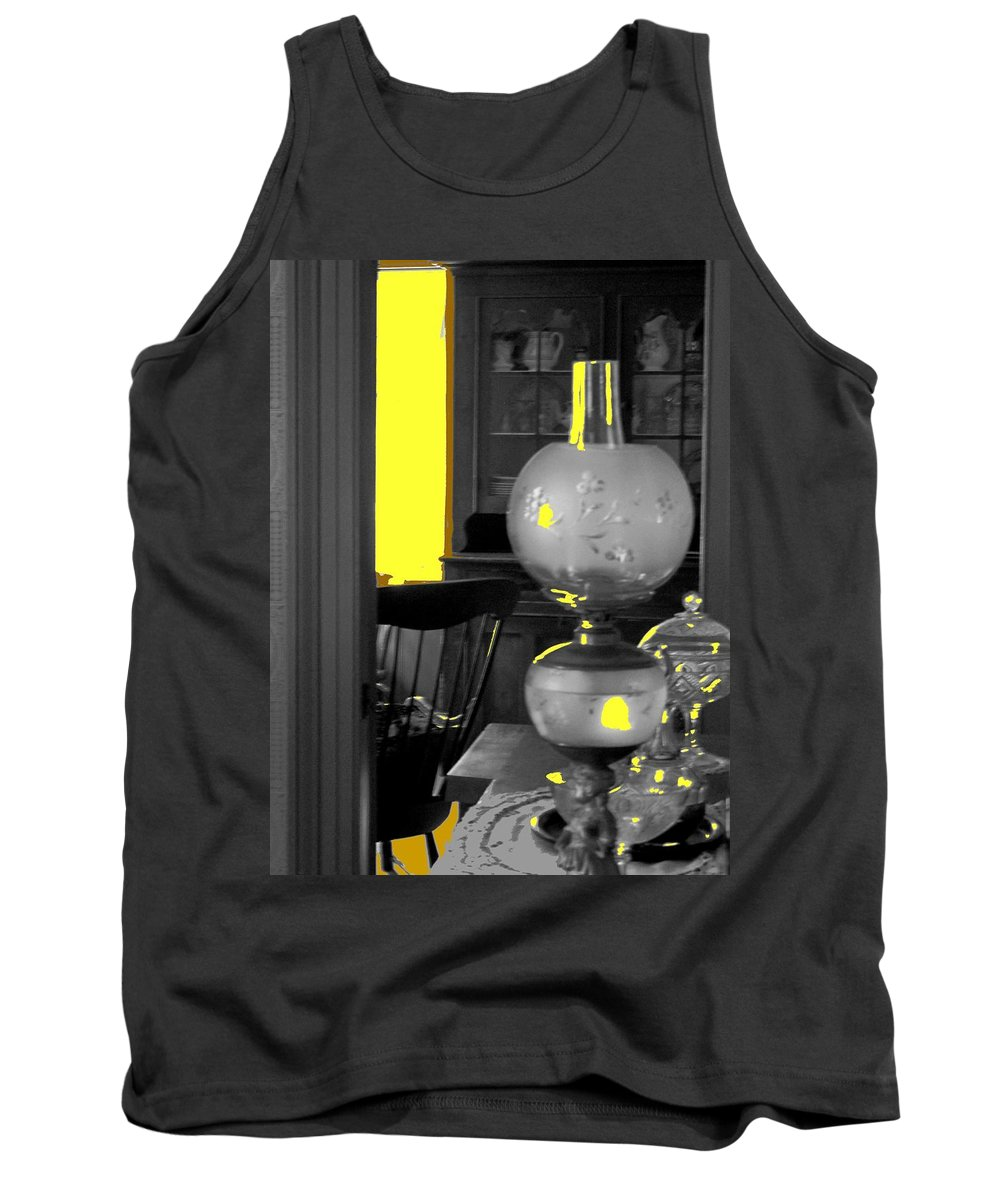 Antiques Tank Top featuring the photograph Light Among The Antiques by Ian MacDonald