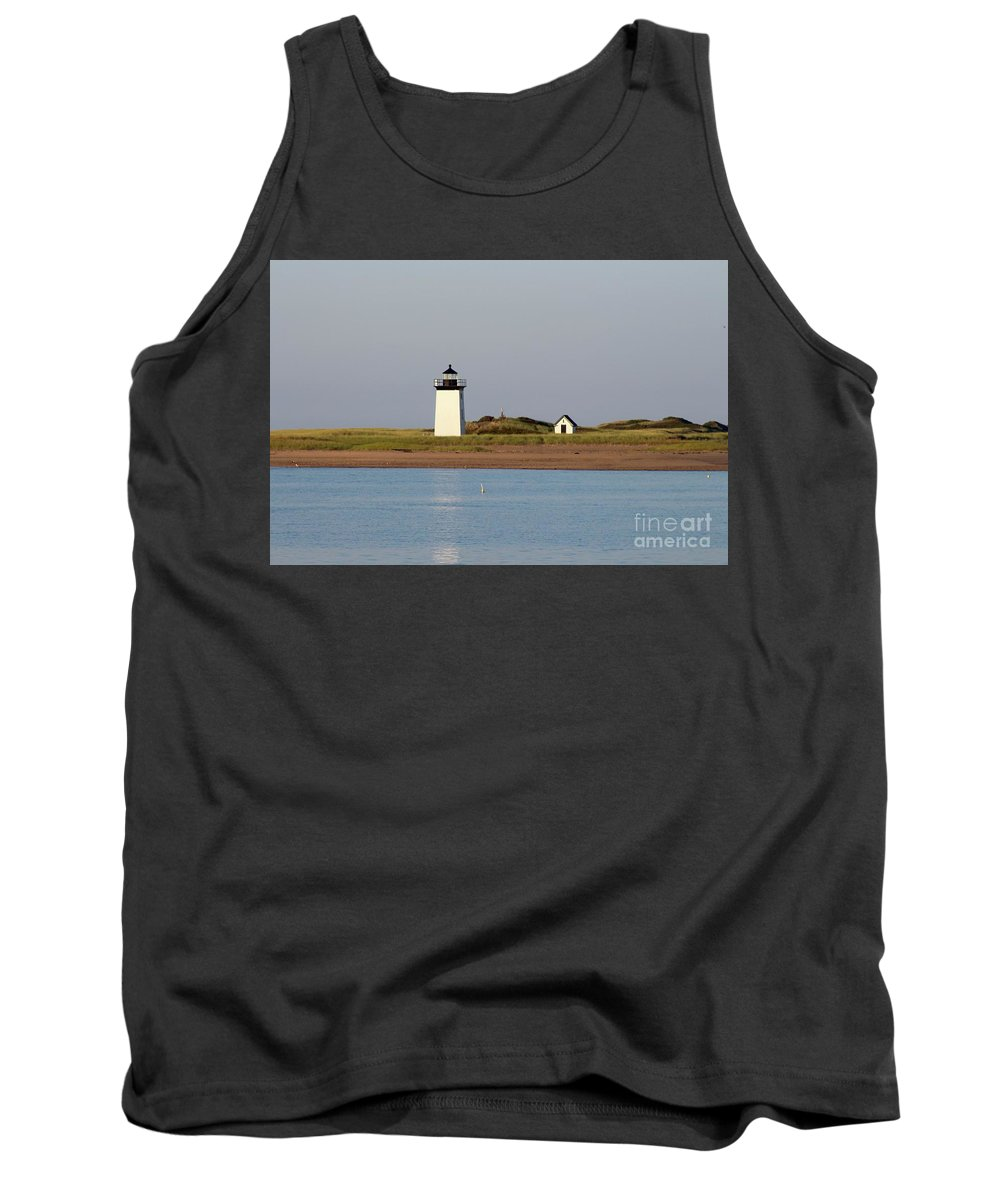 Lighthouse / Provincetown Tank Top featuring the photograph Lighthouse Provincetown 1 by Gregory E Dean