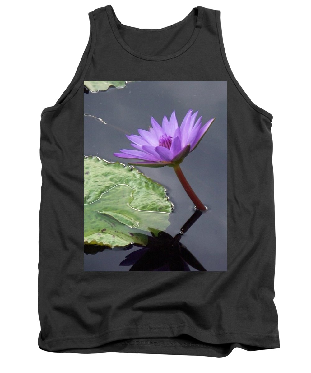 Photograph Tank Top featuring the photograph Lily Pond by Eric Schiabor