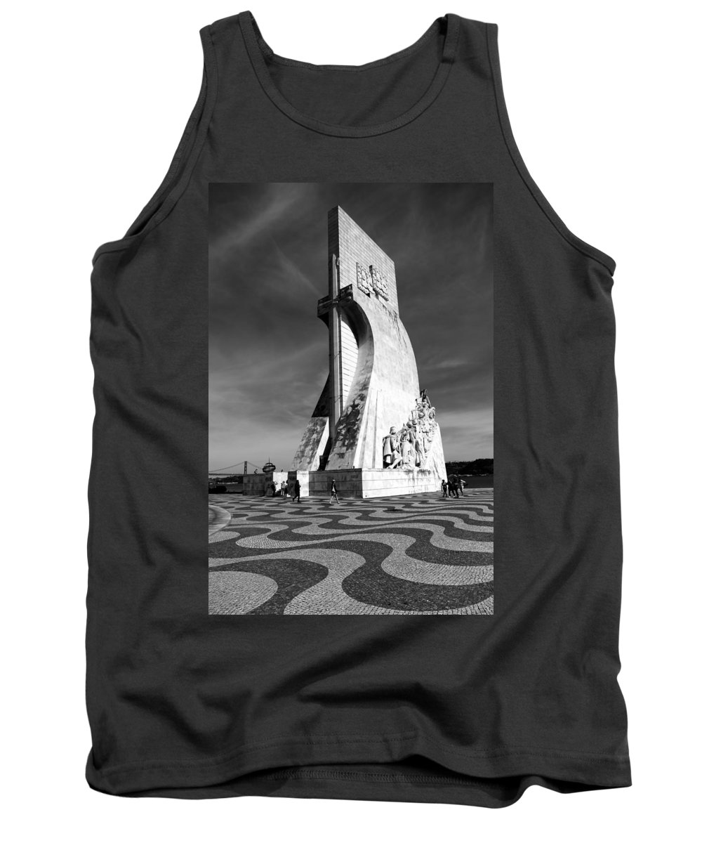 Lisbon Tank Top featuring the photograph Lisbon 13b by Andrew Fare