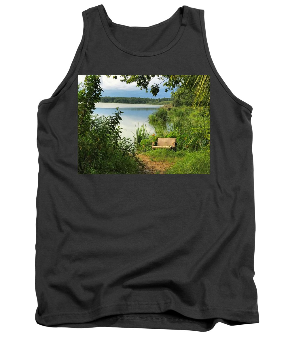 Landscape Tank Top featuring the photograph Living Room by Joseph Bruno Pelle