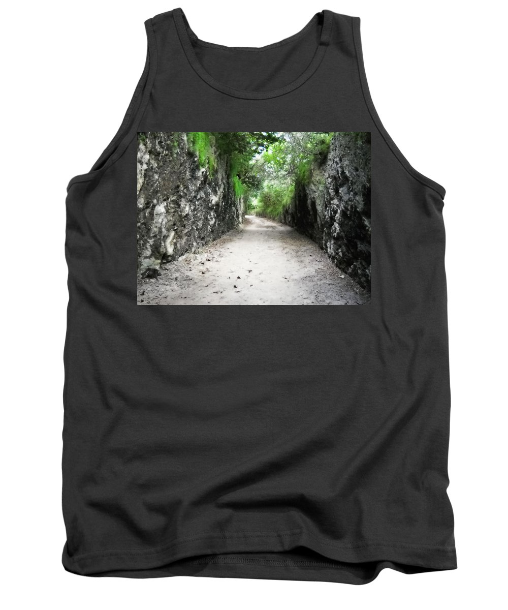 Bermuda Tank Top featuring the photograph Living Walls by Julia Raddatz