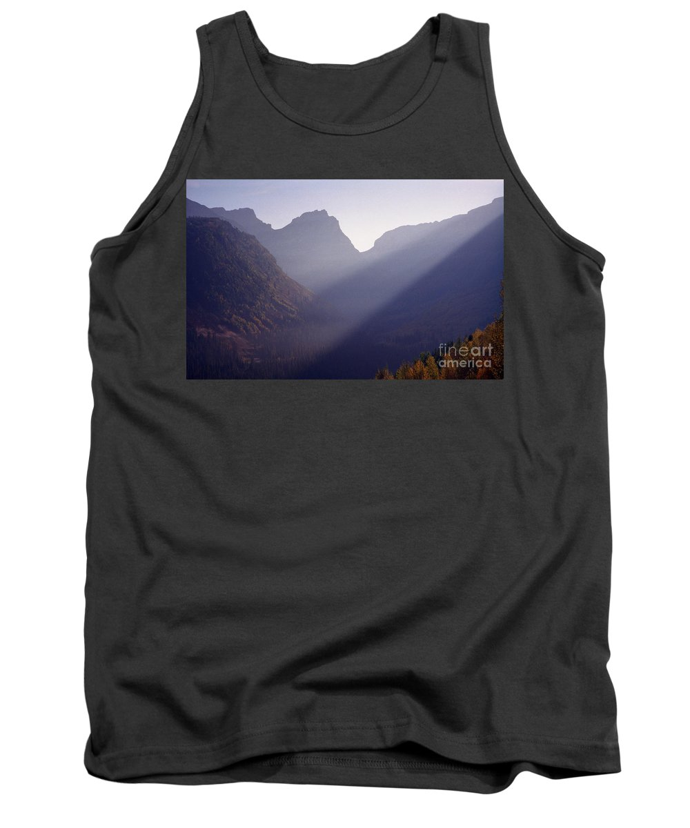 Mountains Tank Top featuring the photograph Logan Pass by Richard Rizzo