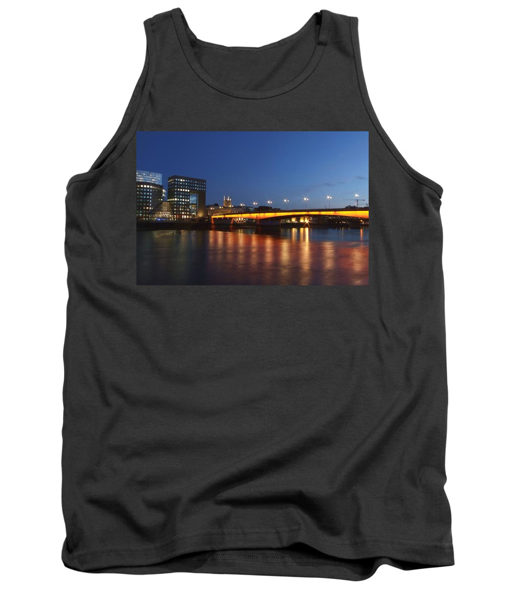 London Bridge Tank Top featuring the photograph London Bridge by Andrew Ford