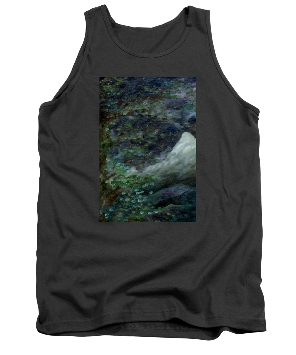 Mountains Tank Top featuring the painting Lone Mountain by FT McKinstry