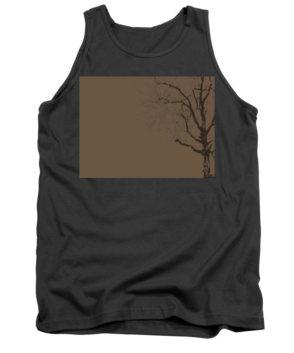 Tree Tank Top featuring the photograph Loneliness by Ed Smith