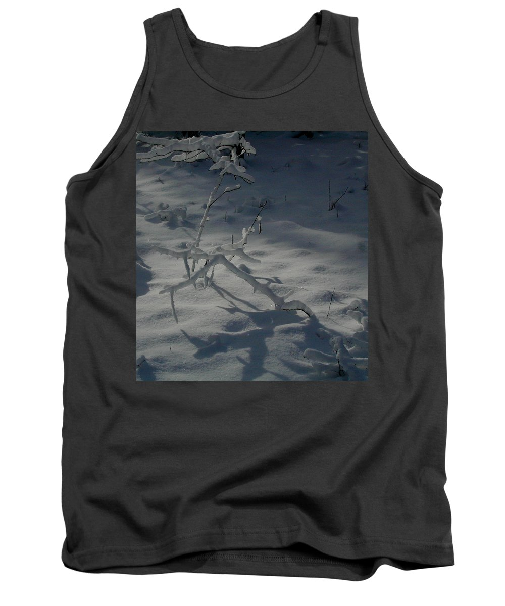 Loneliness Tank Top featuring the photograph Loneliness In The Cold by Douglas Barnett