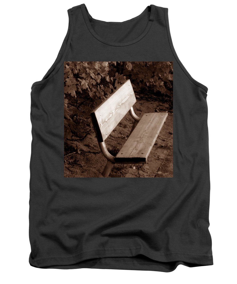 Lonliness Tank Top featuring the photograph Lonely by Wayne Potrafka