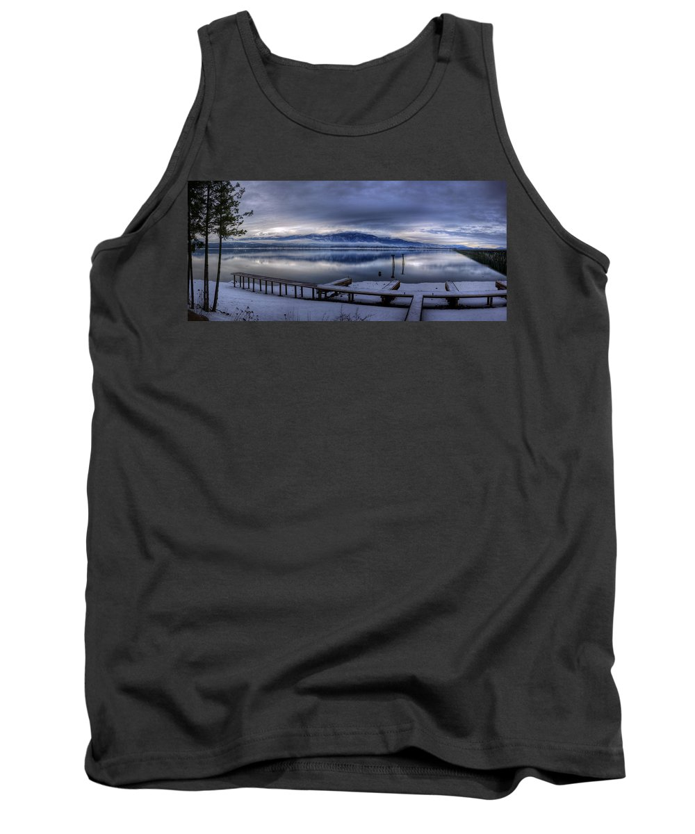 Landscape Tank Top featuring the photograph Looking North From 41 South by Lee Santa
