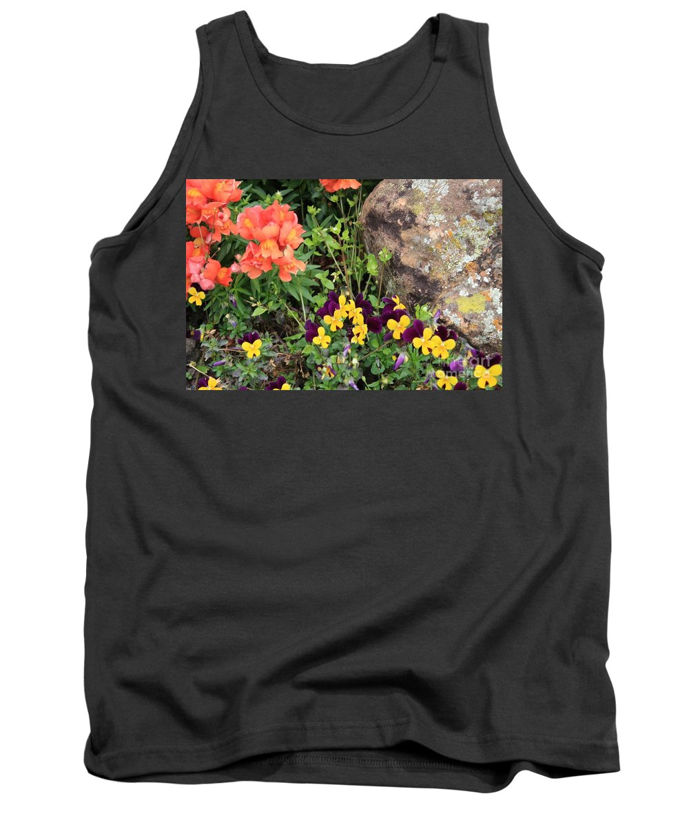 Flower Tank Top featuring the photograph Lots Of Color by John W Smith III