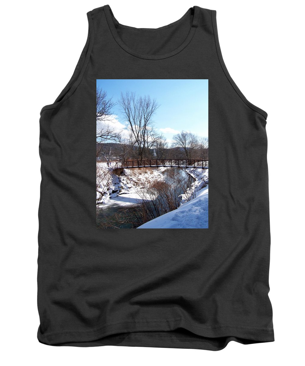 Stowe Tank Top featuring the photograph Louisen's Stowe 23 by Louise Haineault