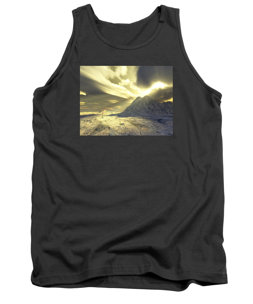 Loved Tank Top featuring the digital art Loved - Never Forgotten by Jennifer Kathleen Phillips
