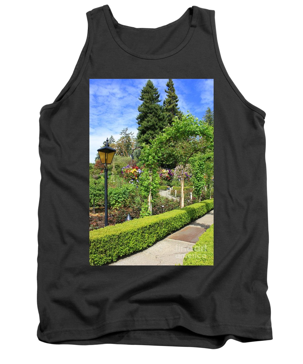 Garden Tank Top featuring the photograph Lovely Day In The Garden by Carol Groenen