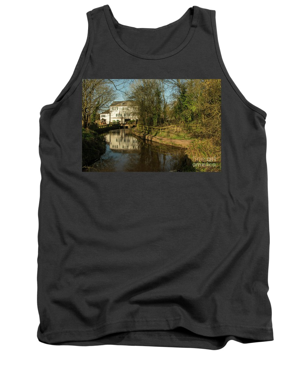 Cullompton Tank Top featuring the photograph Lower Mill Of Cullompton by Rob Hawkins