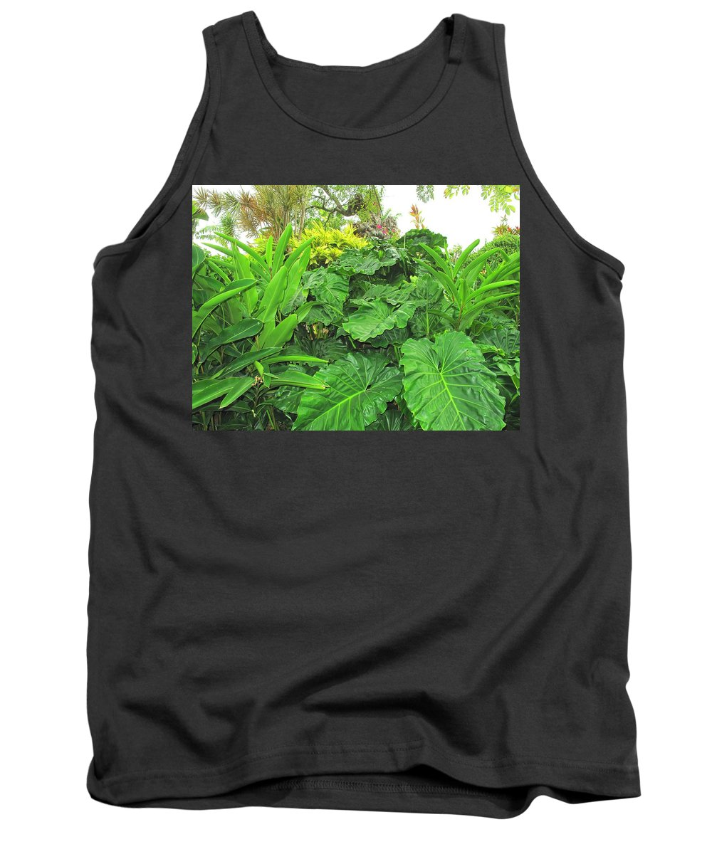 Vegetation Tank Top featuring the photograph Lust Too by Ian MacDonald