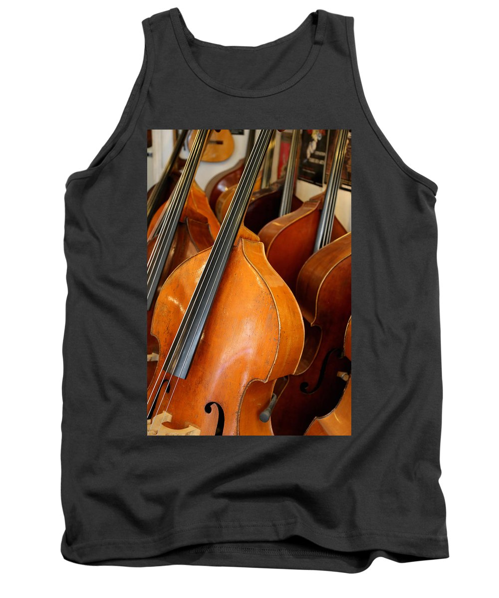 Luthier Tank Top featuring the photograph Luthier 4 by Andrew Fare
