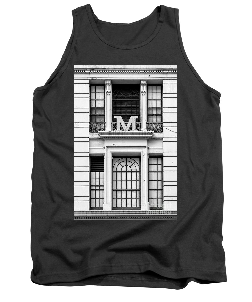 Symmetry Tank Top featuring the photograph Macy's Window by Edi Chen
