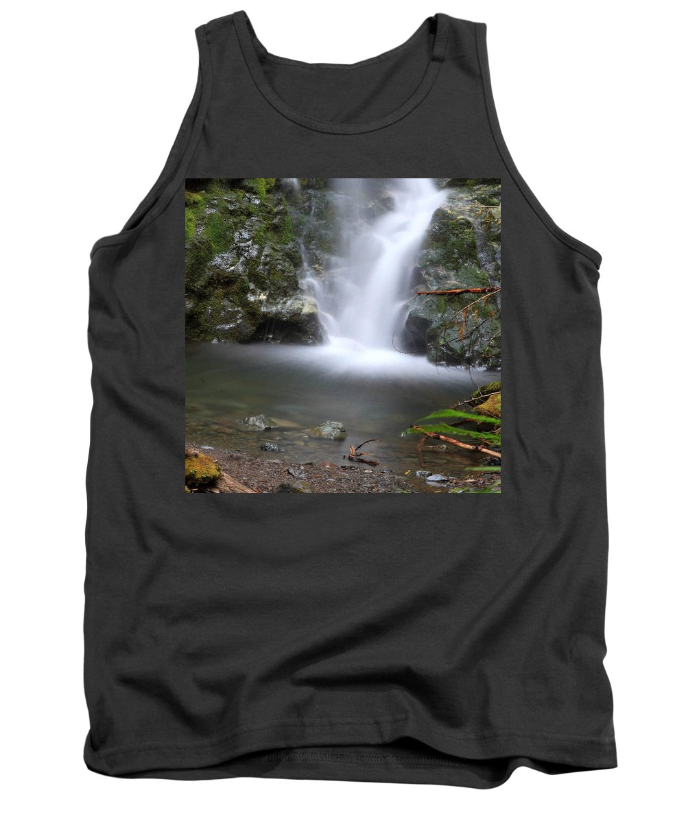 Columbia Gorge Tank Top featuring the photograph Madison Falls 2 by Ingrid Smith-Johnsen