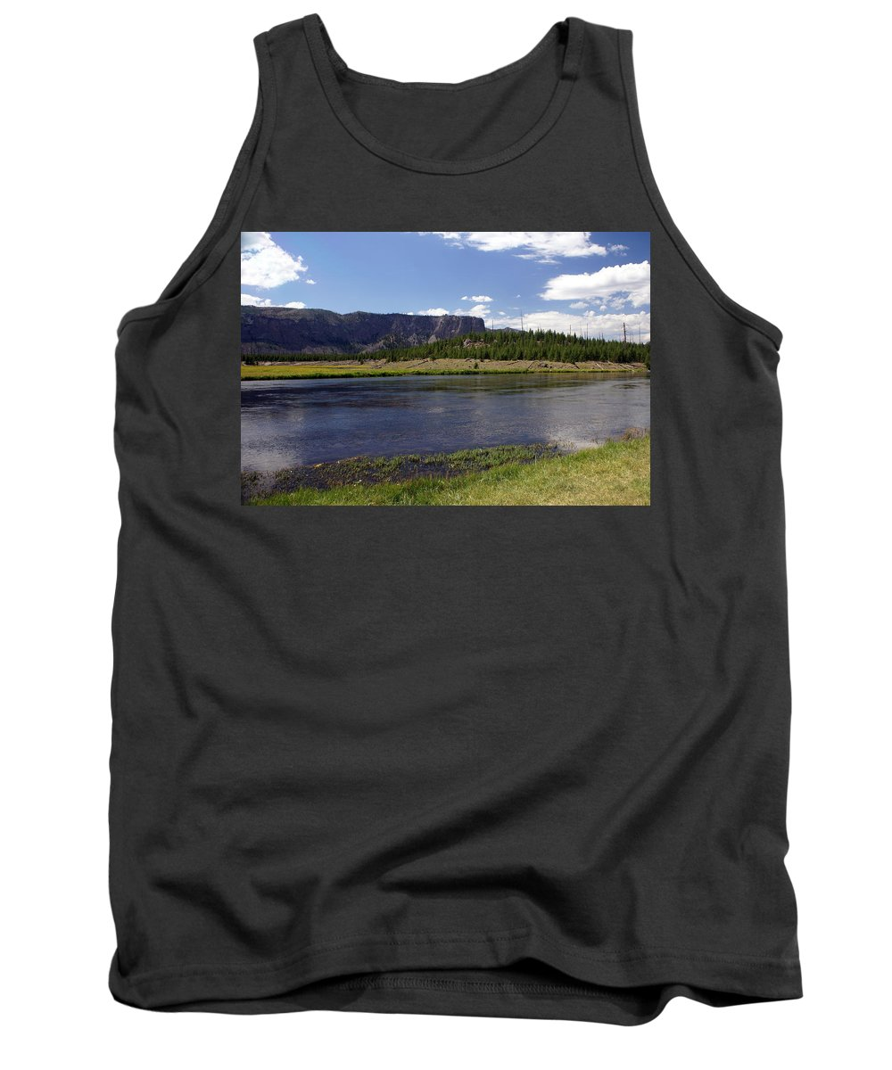 Madison River Tank Top featuring the photograph Madison River Valley by Marty Koch