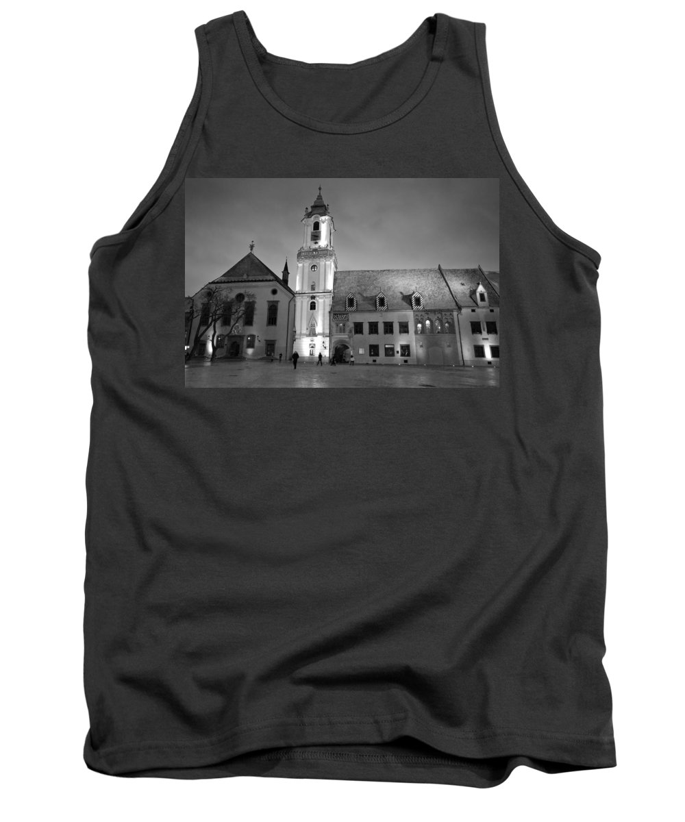 Bratislava Tank Top featuring the photograph Main Square by Milan Gonda