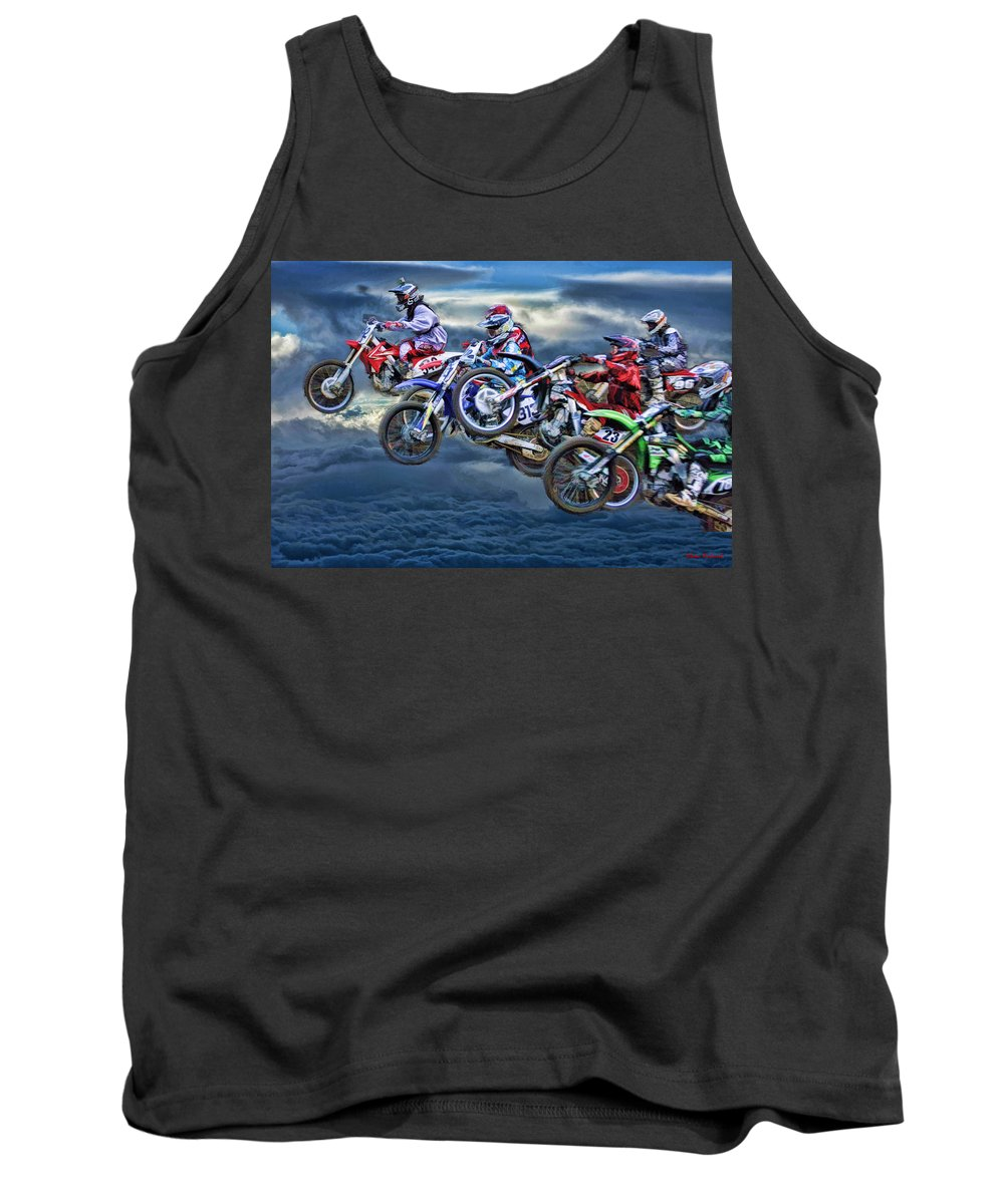 Tank Top featuring the photograph Majestic Motors by Blake Richards