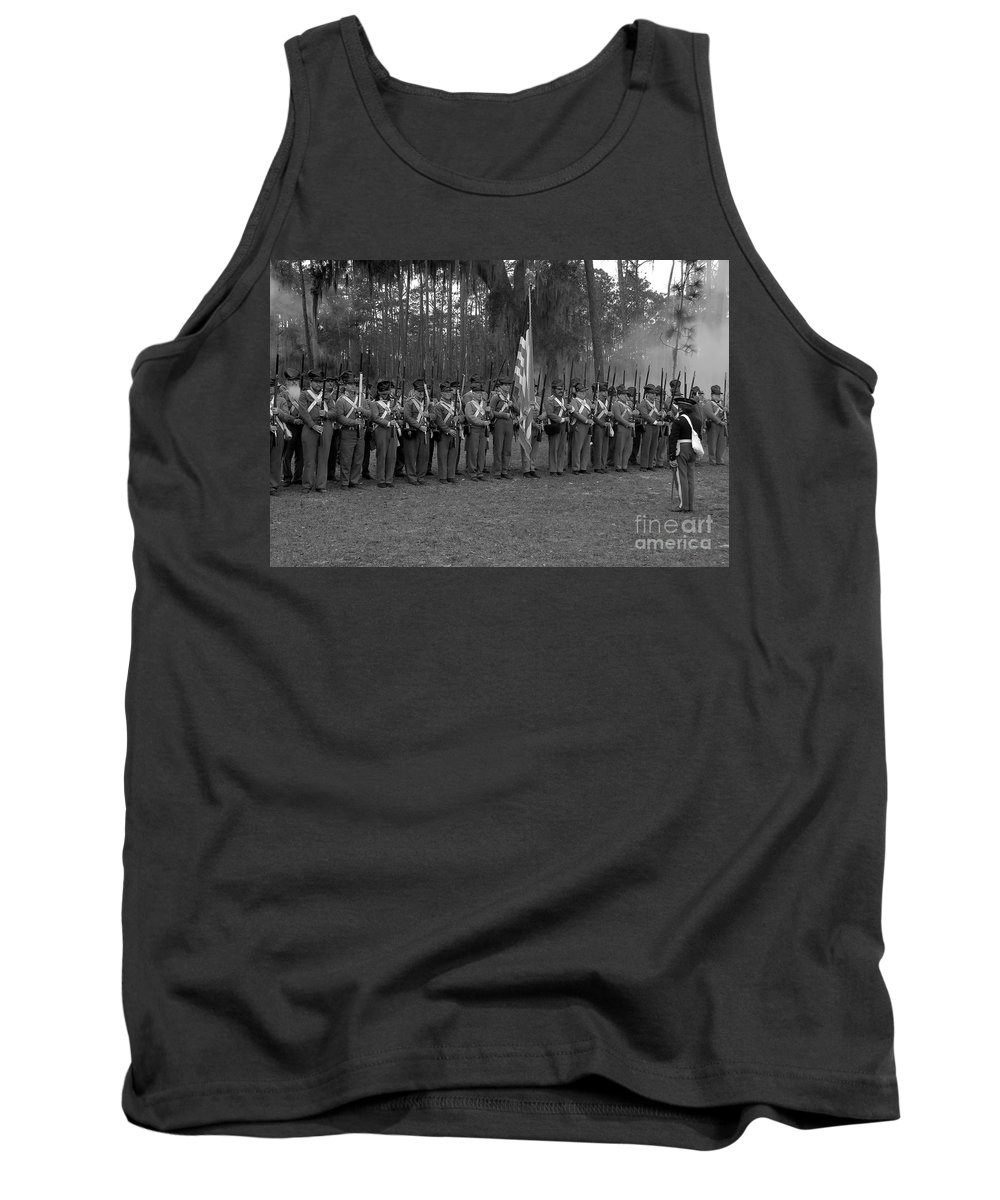 Dade Battlefield Tank Top featuring the photograph Major Dade's Men by David Lee Thompson