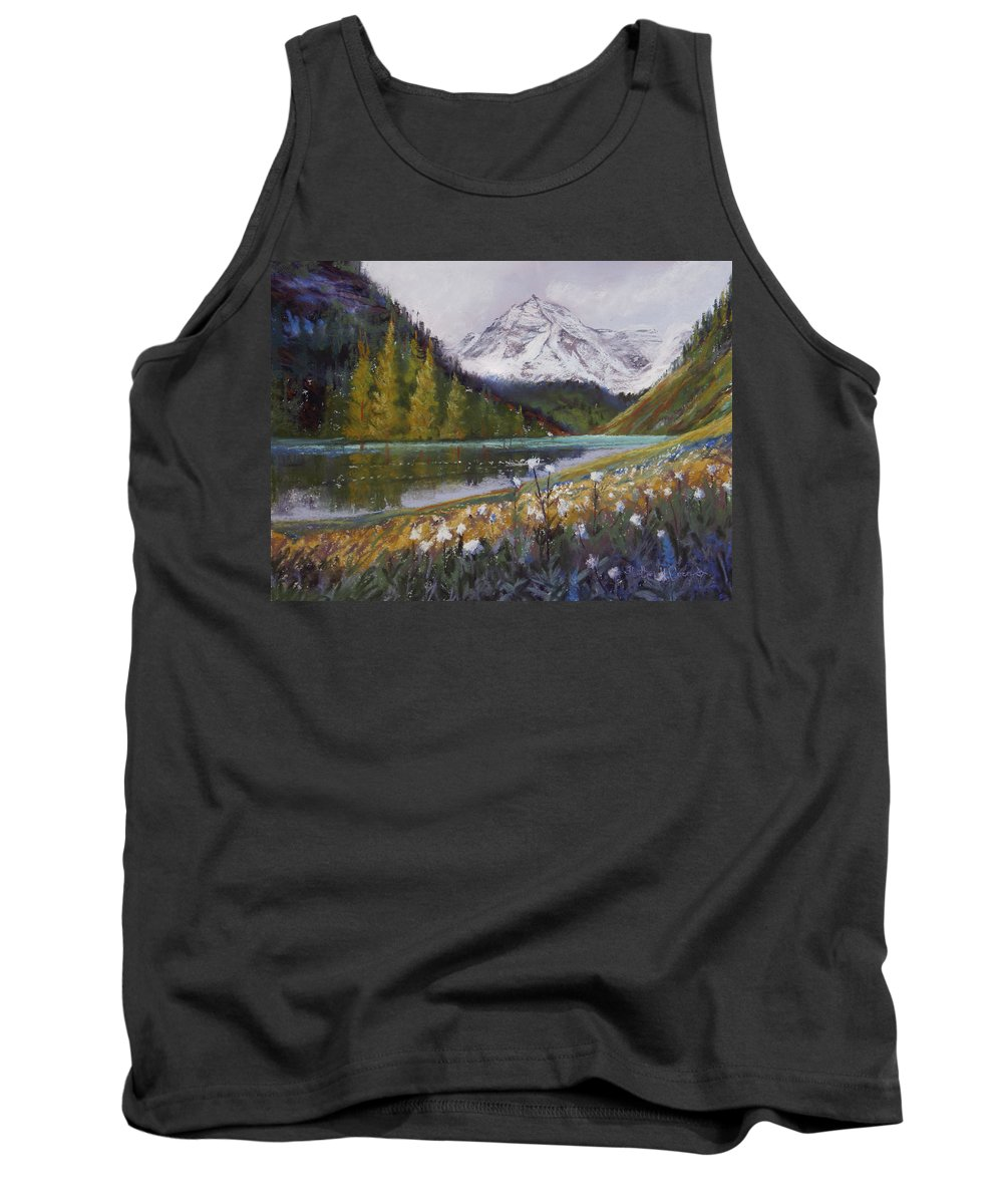 Maroon Lake Tank Top featuring the photograph Maroon Lake by Heather Coen