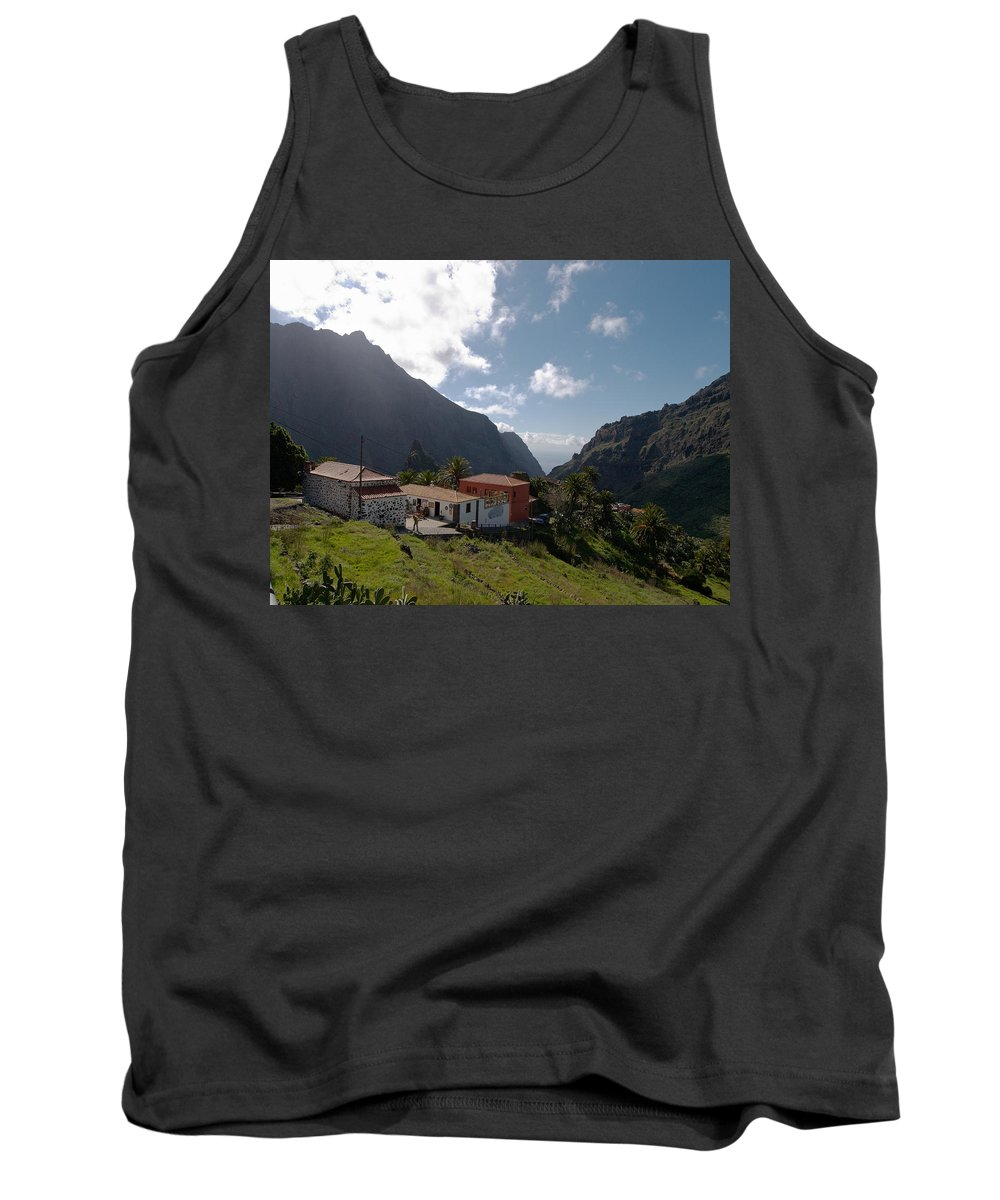 Landscape Tank Top featuring the photograph Masca Valley And Parque Rural De Teno 4 by Jouko Lehto