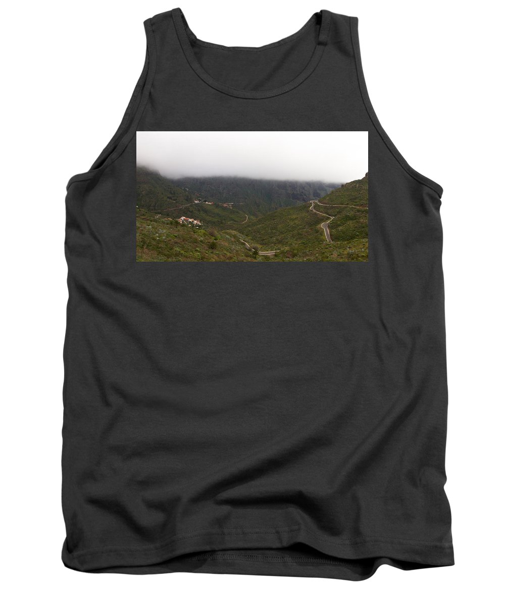 Landscape Tank Top featuring the photograph Masca Valley And Parque Rural De Teno 6 by Jouko Lehto