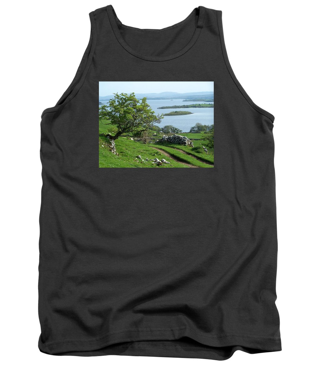 Ireland Tank Top featuring the photograph May The Road Rise To Meet You by Teresa Mucha