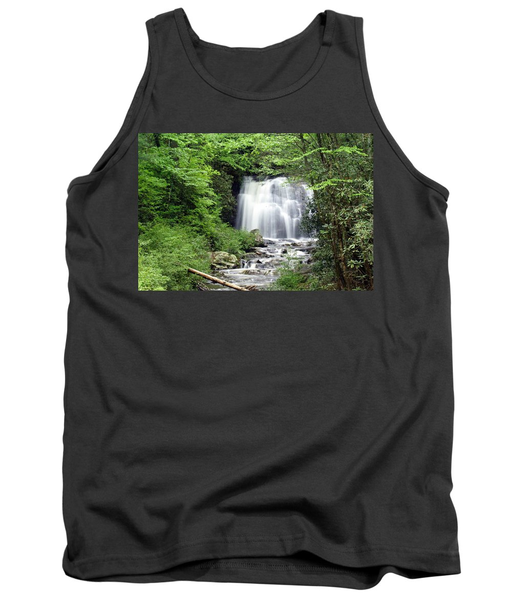 Meigs Falls Tank Top featuring the photograph Meigs Falls by Marty Koch