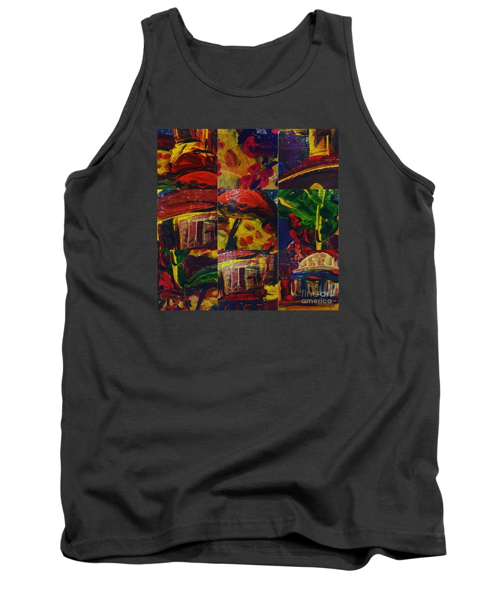 Tank Top featuring the photograph Messy Imagination by Christopher Adamo-Rocco