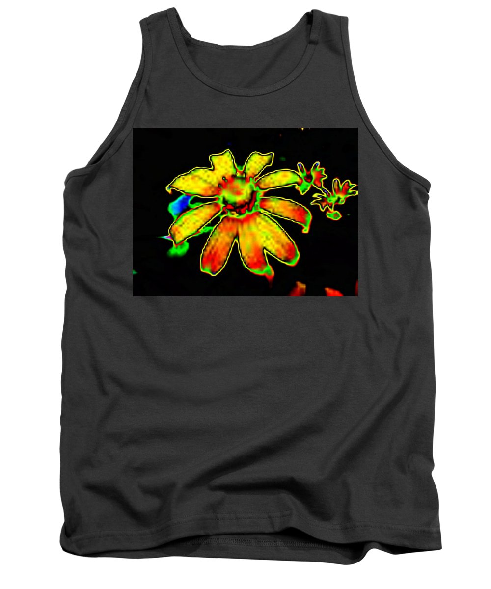 Sunflower Tank Top featuring the photograph Mexican Sunflower by Tim Allen