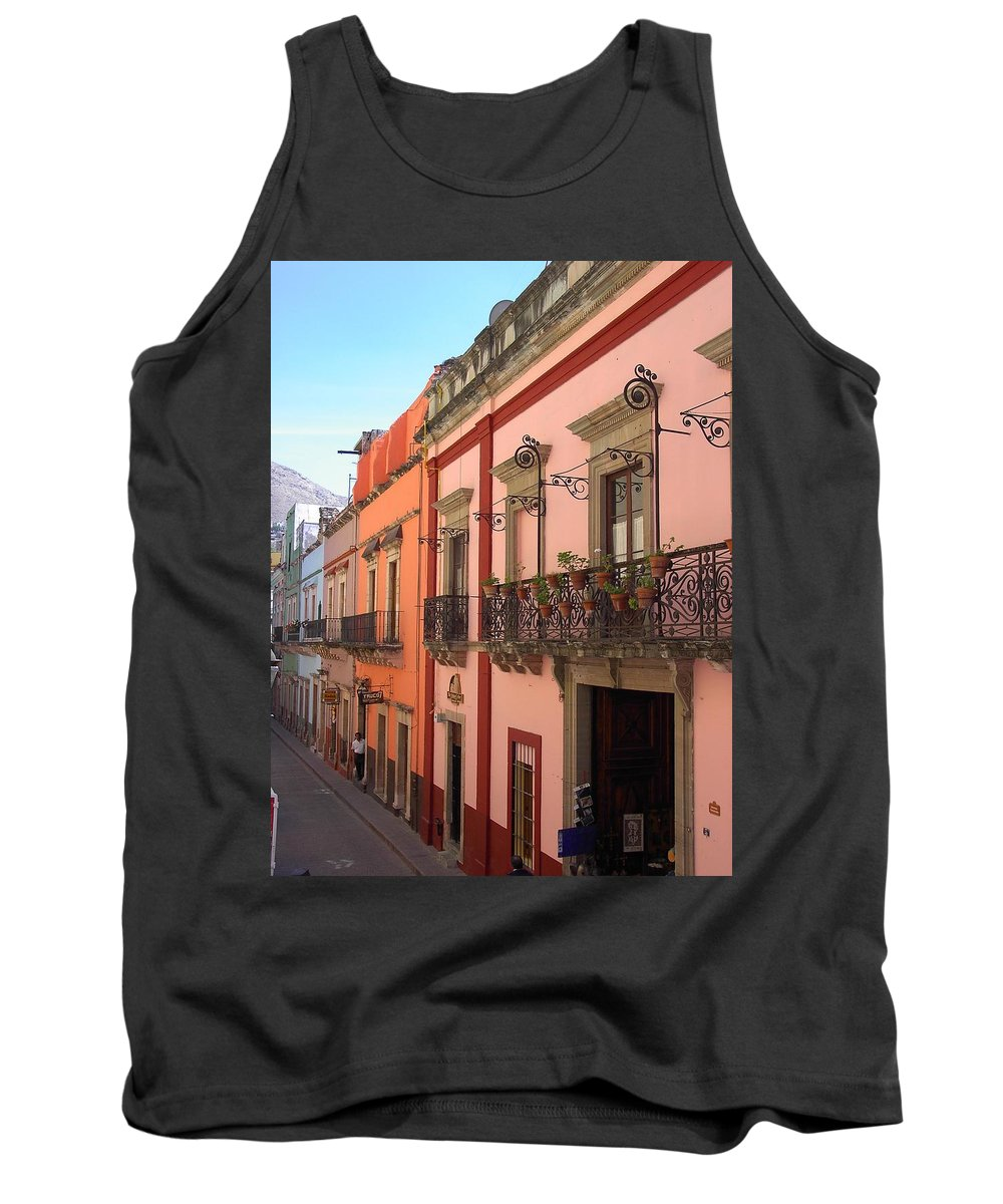 Charity Tank Top featuring the photograph Mexico by Mary-Lee Sanders