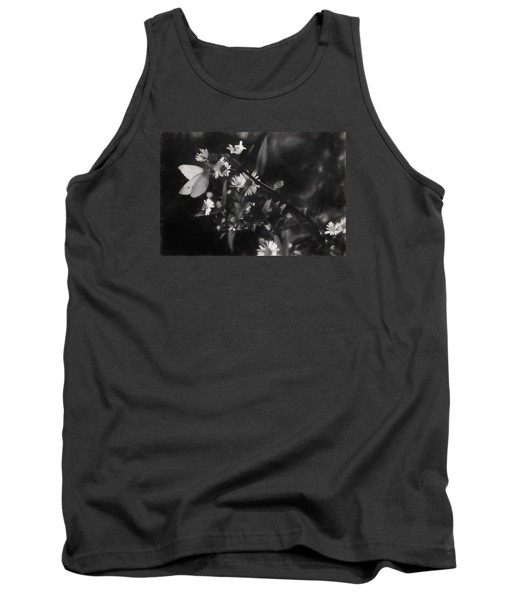 Abb Tank Top featuring the photograph Mid-october Butterfly I by Trent Garverick