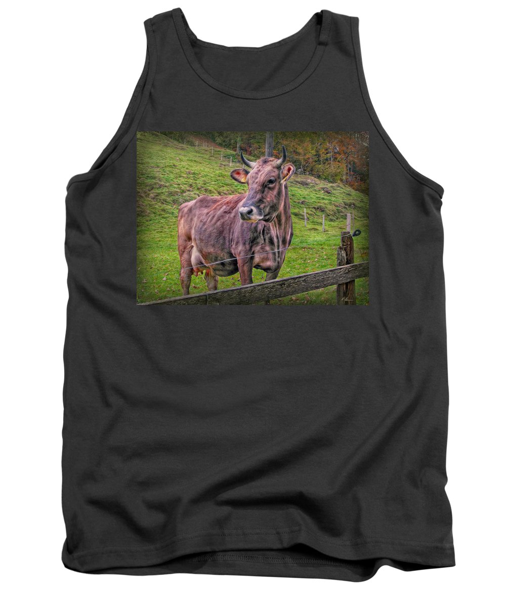Switzerland Tank Top featuring the photograph Milk Chocolate Basic Supplier by Hanny Heim