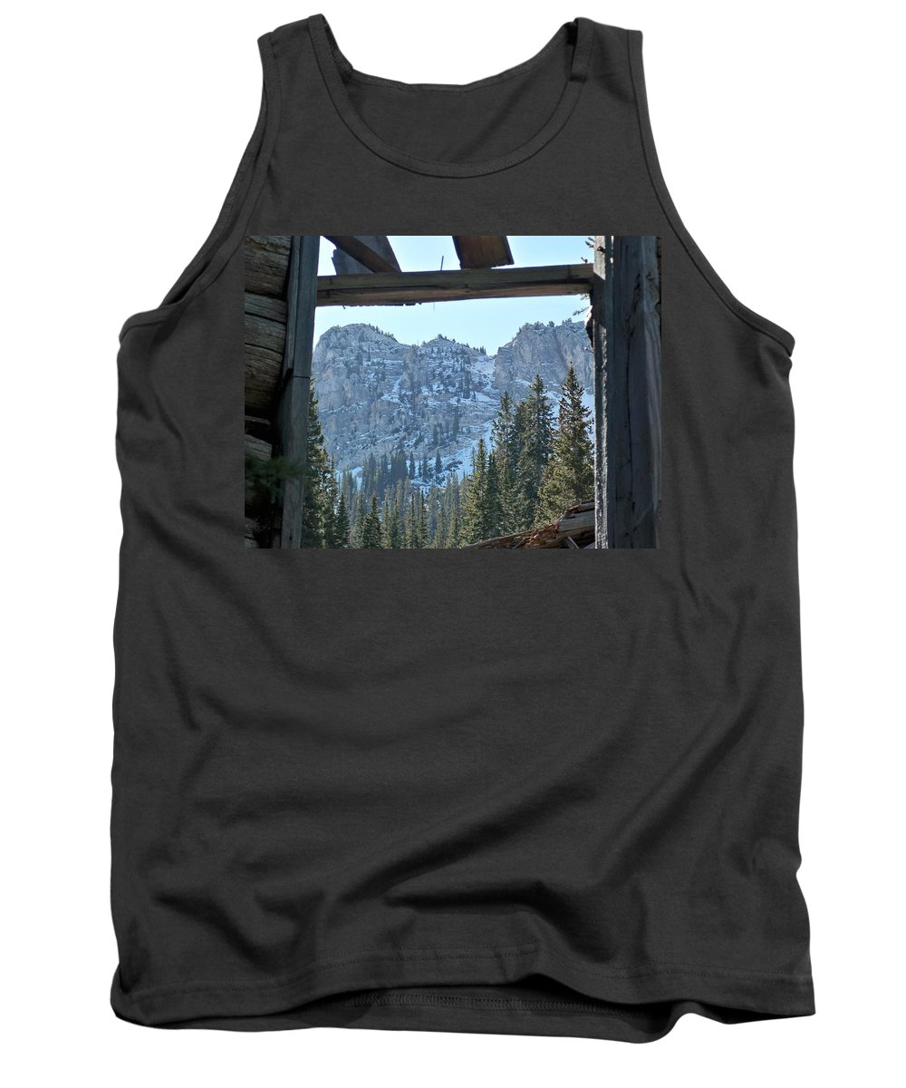 Mountain Tank Top featuring the photograph Miners Lost View by Michael Cuozzo