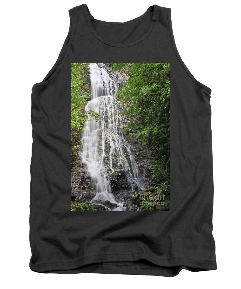 Mingo Tank Top featuring the photograph Mingo Falls In The Spring by Jill Lang