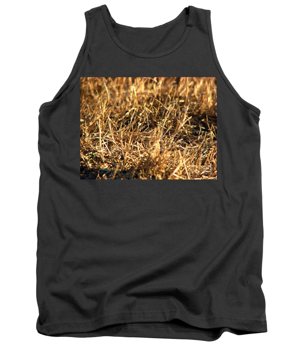 Grass Tank Top featuring the photograph Mirrors by Amanda Barcon