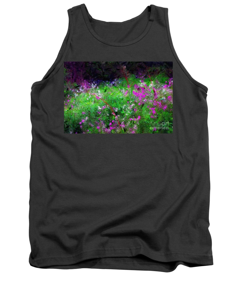Digital Photograph Tank Top featuring the photograph Mixed Up by David Lane