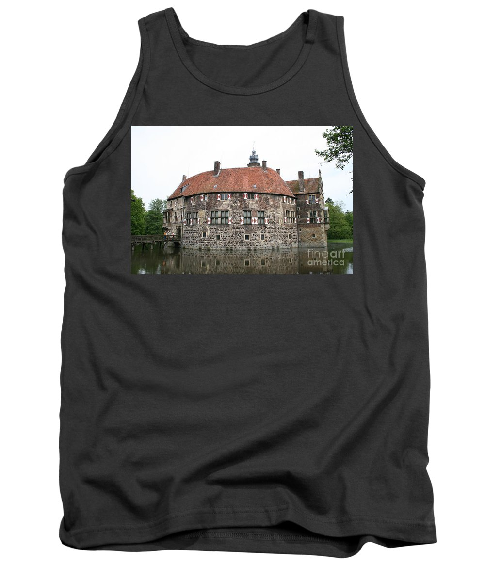 Castle Tank Top featuring the photograph Moated Castle Vischering by Christiane Schulze Art And Photography