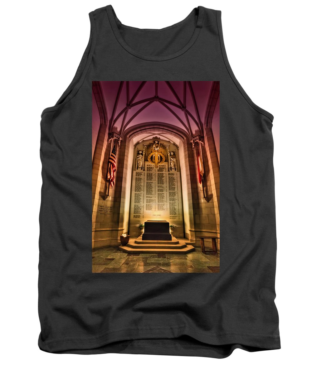 Church Tank Top featuring the photograph Monumental by Evelina Kremsdorf