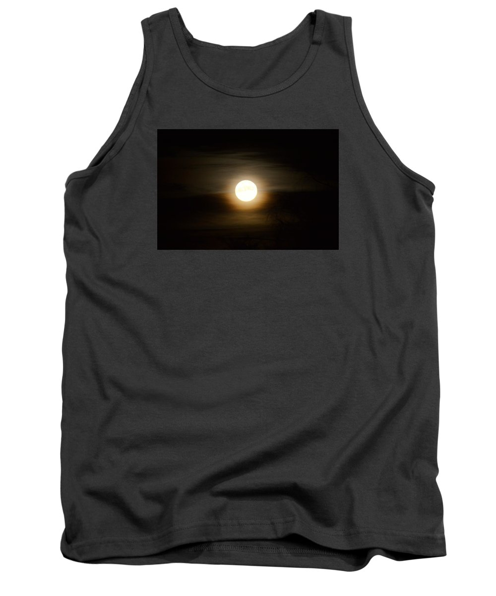 Moon Tank Top featuring the photograph Moonlight by FL collection
