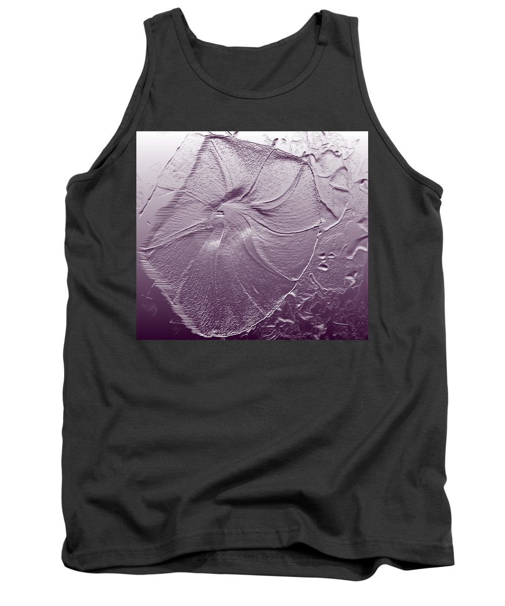 Abstract Tank Top featuring the photograph Morning by Lenore Senior