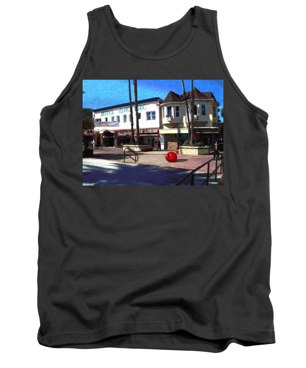 Catalina Tank Top featuring the painting Morning Light by Snake Jagger