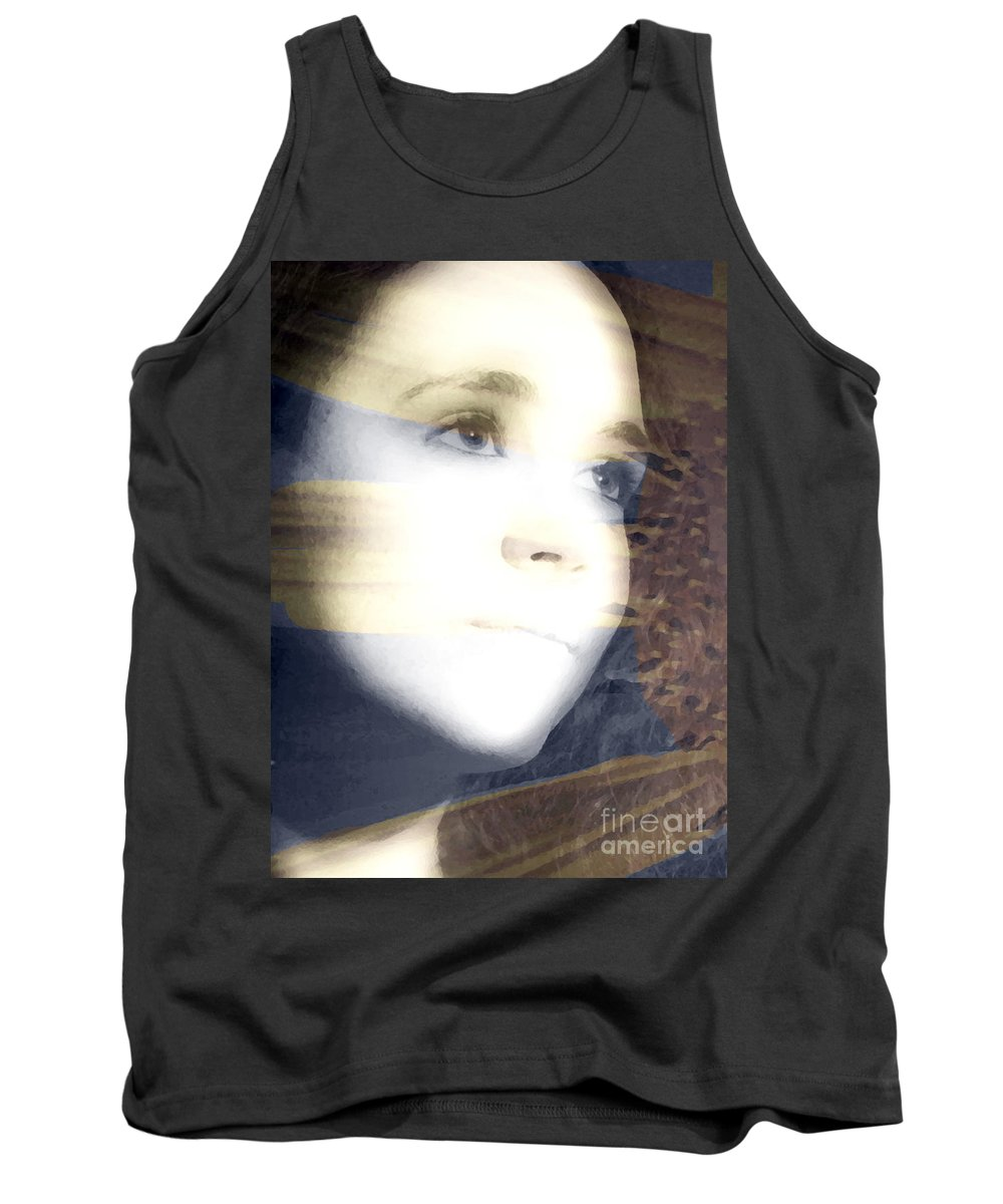 Modern Tank Top featuring the photograph Mother Nature by Amanda Barcon