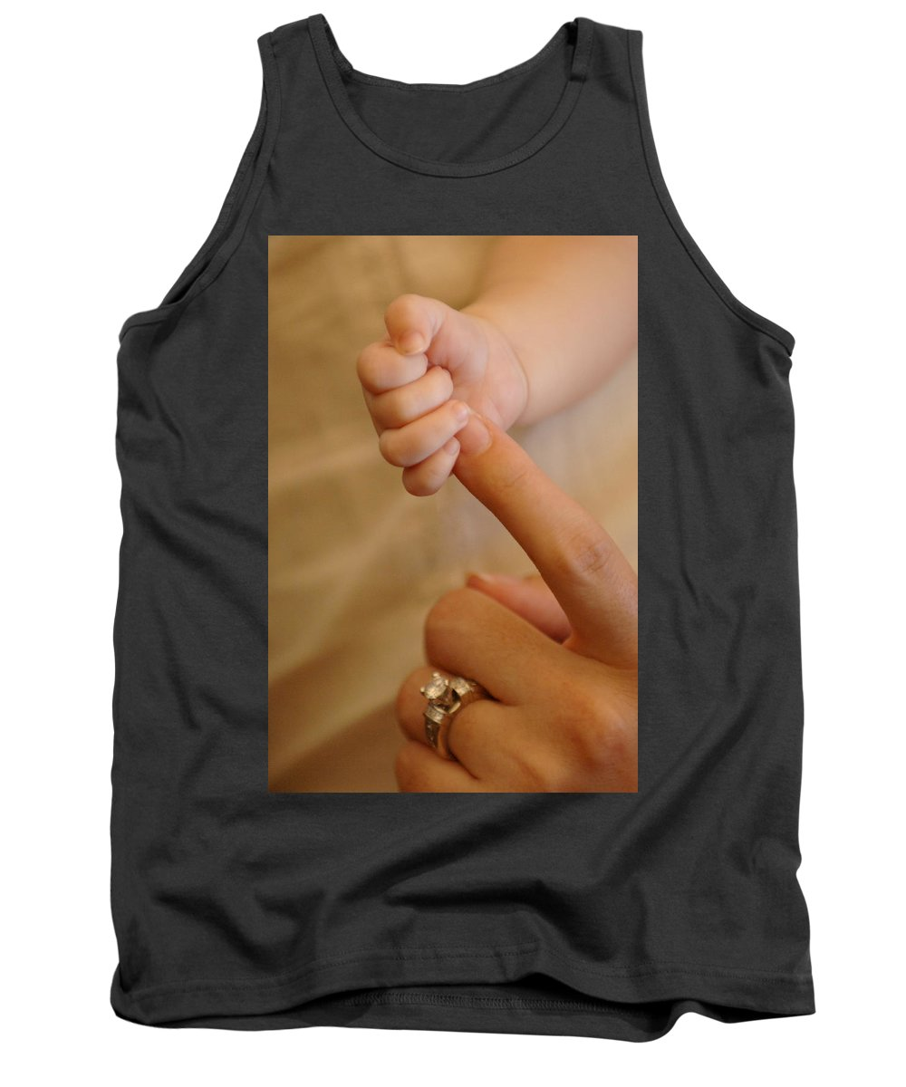 People Tank Top featuring the photograph Motherhood by Jill Reger