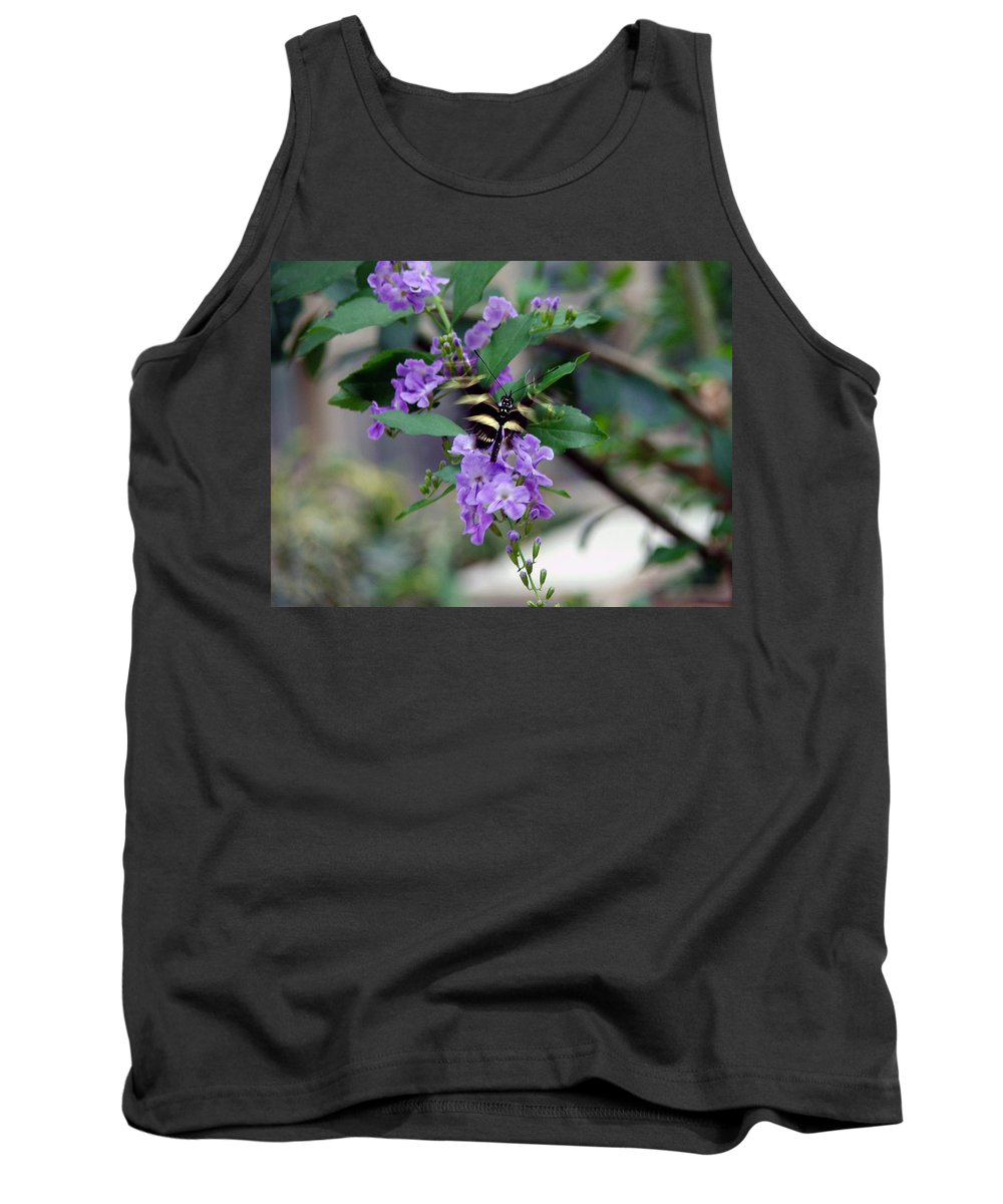 Butterfly Tank Top featuring the photograph Motion by Robert Meanor