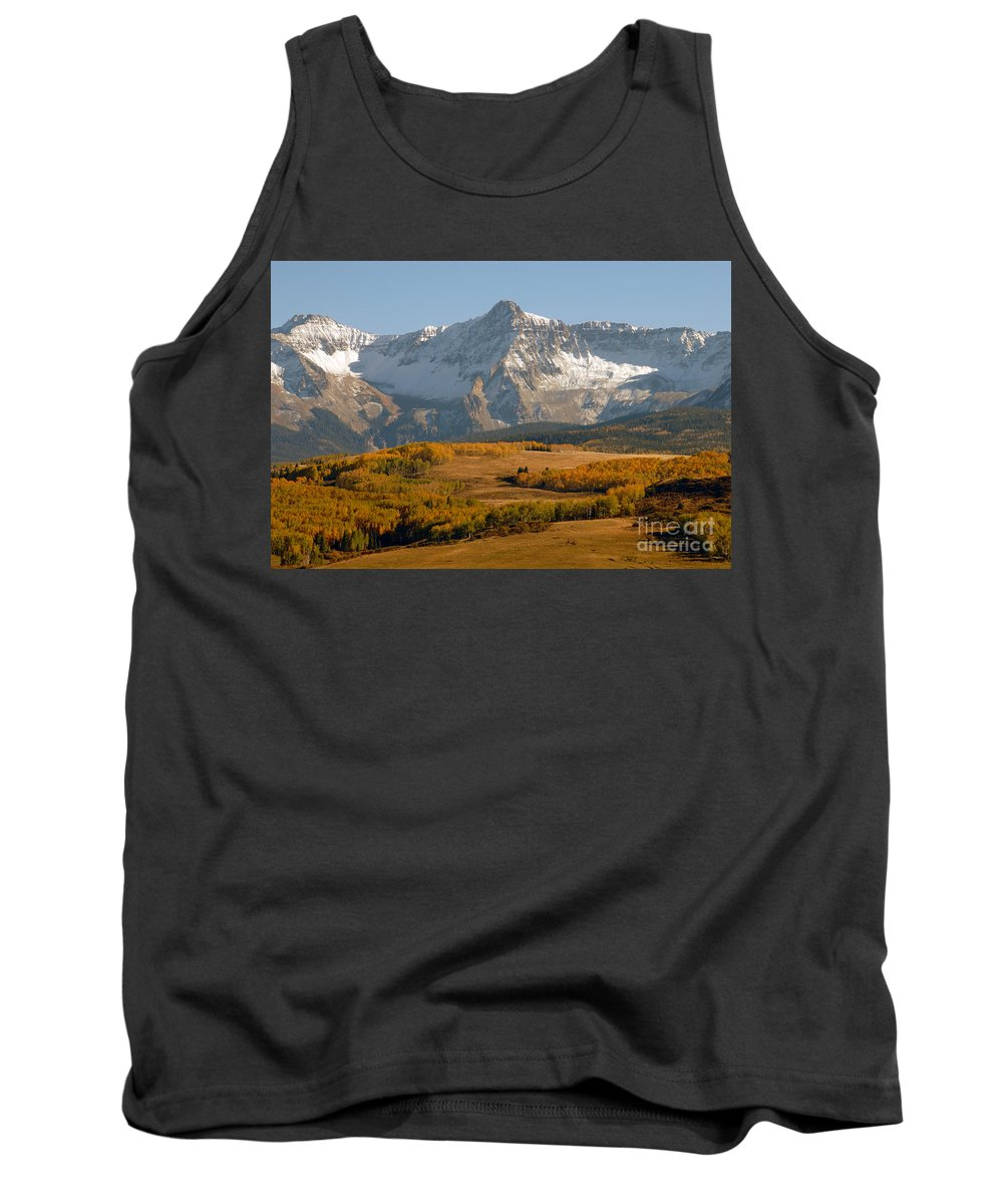 Mount Sneffels Tank Top featuring the photograph Mount Sneffels by David Lee Thompson