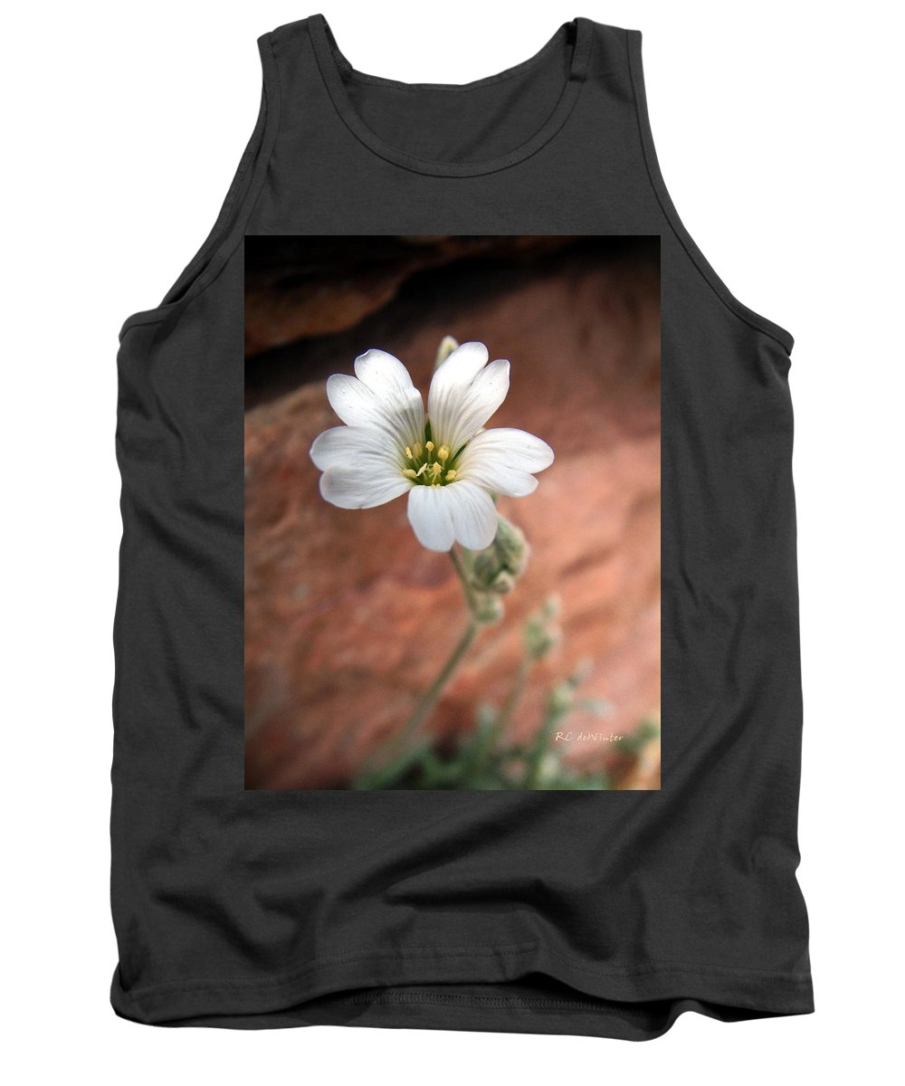 Alpine Tank Top featuring the photograph Mountain Beauty by RC DeWinter